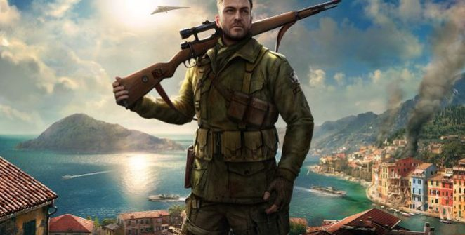 Sniper Elite 4 - For precision aiming, you must hold your breath back.