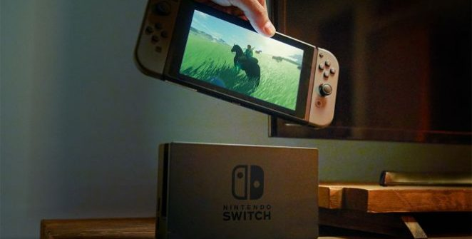 "new Switch model - Nintendo opened the game reveals with one of the craziest ""non"" games of all time called 1-2 Switch."