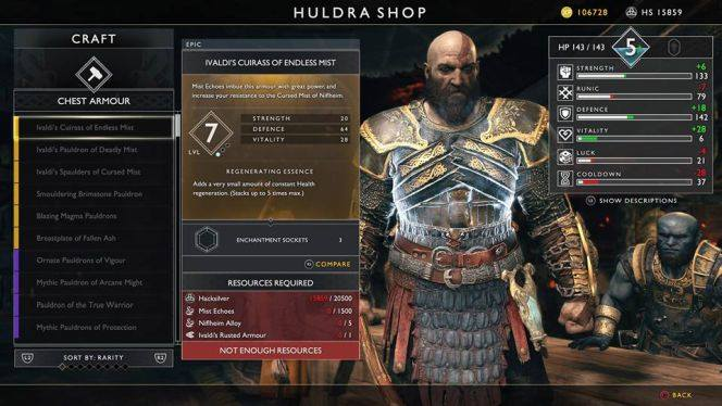 RPG Aspects Matters – My Issues with God of War - theGeek games