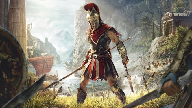 ps4pro assassins creed odyssey