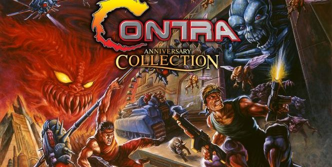 We learned what the Contra collection will contain, not long after releasing the Castlevania package.