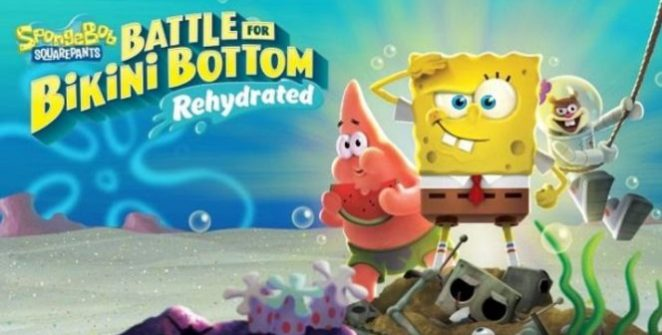 We were afraid to write its name in the title, as it'd have been like three lines long, so we'll name it here: SpongeBob SquarePants: Battle for Bikini Bottom – Rehydrated is coming! (Can anyone pronounce it with one breath?)