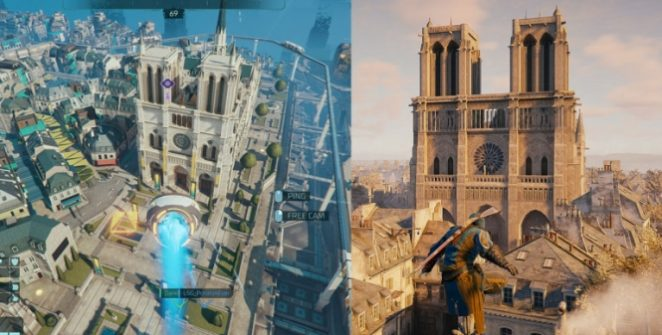 The artist who created the digital copy of Notre-Dame in Assassin's Creed Unity is now a member of the Hyper Scape artist team.