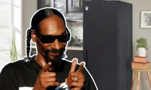 The rapper has a refrigerator shaped like an Xbox Series X.